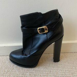 Fendi black booties